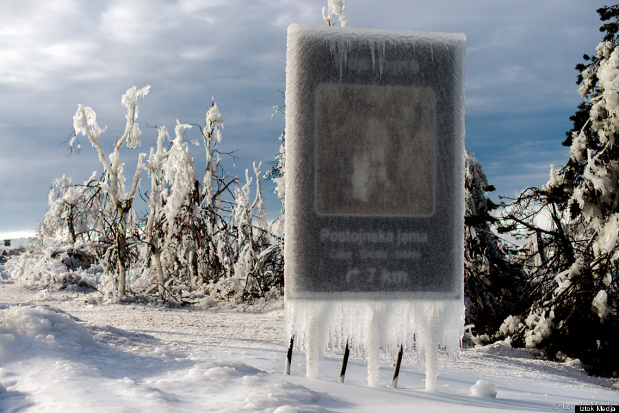 slovenia ice storm