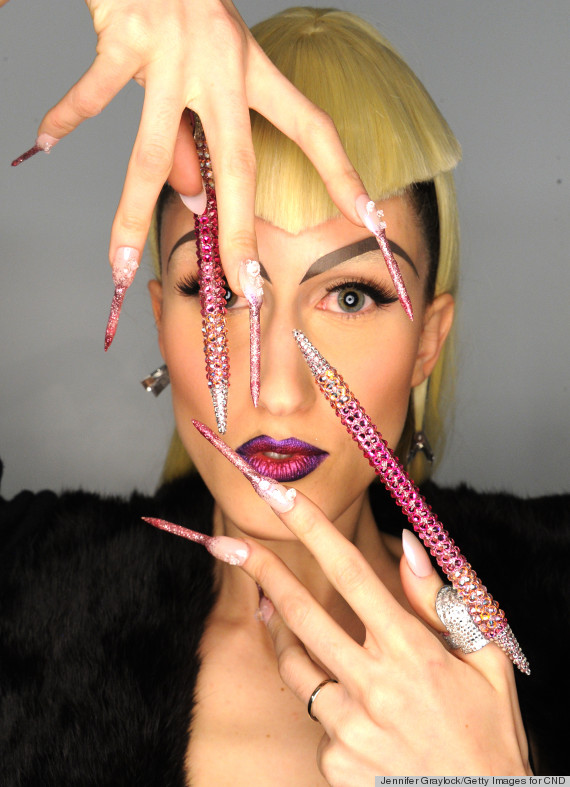 the blonds nails fall 2014 nails