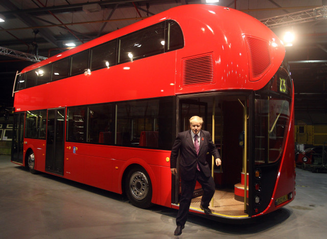 routemaster buses boris johnson