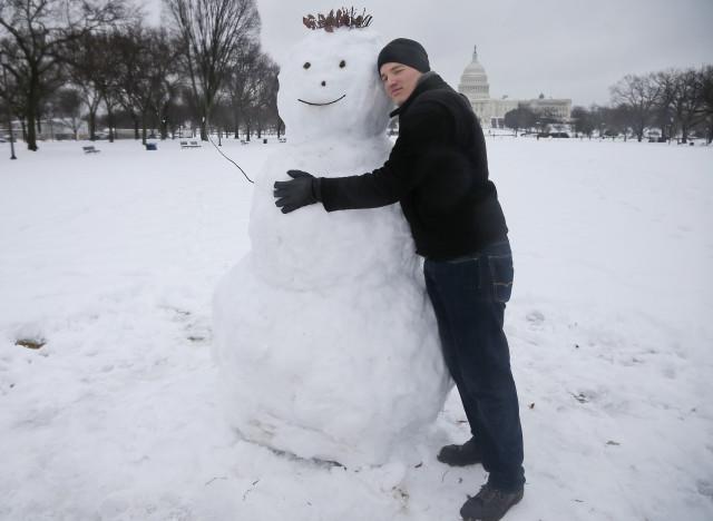 washington dc snow