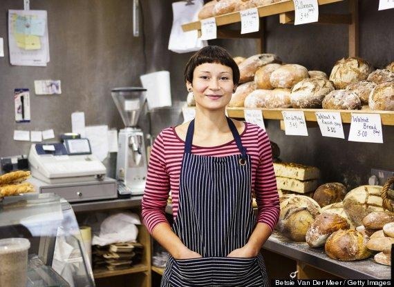 woman baker