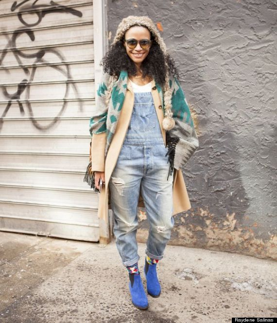 New York Fashion Week Fall 2014 Beauty Street Style Girls With Curls From Day 7 Photos Huffpost