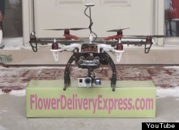 Sorry, Cupid: This Genius Valentine's Flower Delivery Drone Is A No-Go