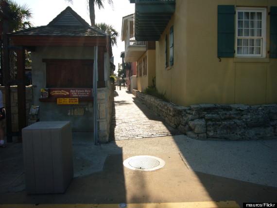 treasury street st augustine