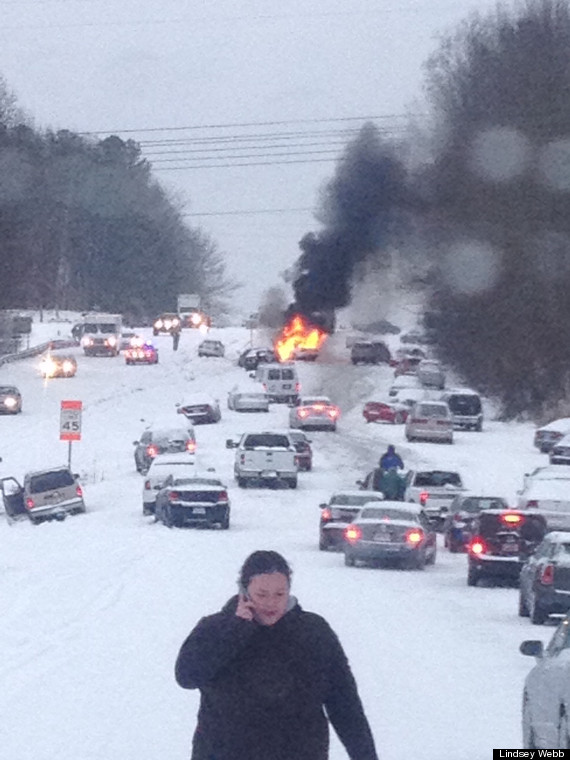 raleigh snow storm