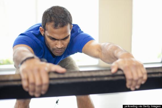 men barre workout