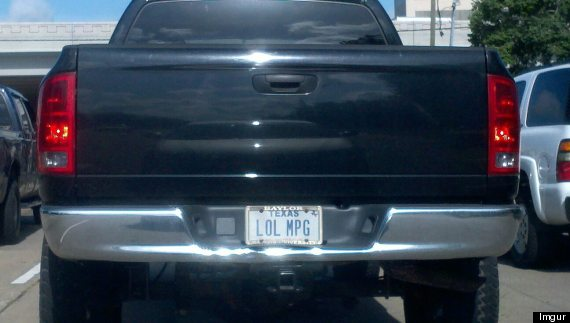 22 Vanity Plates That Will Make You Shake Your Head Huffpost