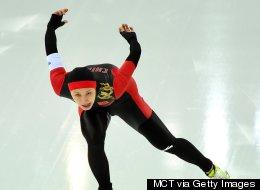 Chinese Speedskater Pulls Off Olympic Stunner