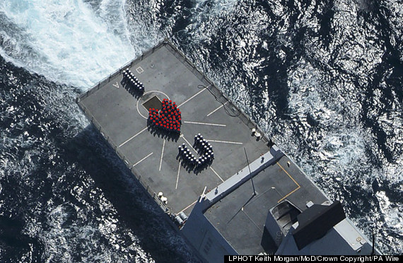 royal navy valentine