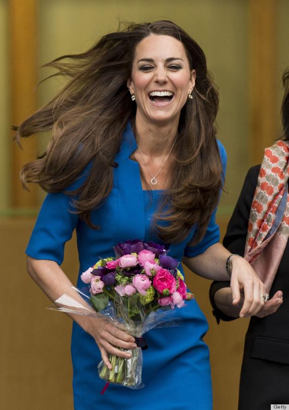 kate laughing