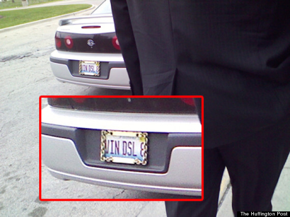 Customized License Plates >> 22 Vanity Plates That Will Make You Shake Your Head | HuffPost
