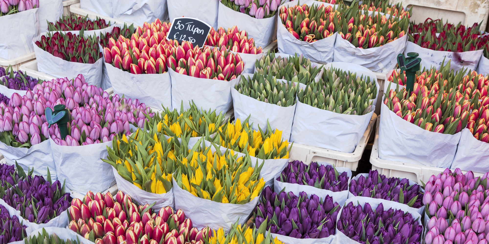 Get Ready For Spring With The Most Stunning Flower Markets Around The World