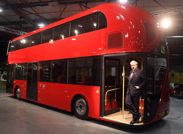 routemaster boris johnson