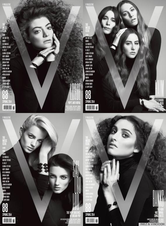 v magazine music issue