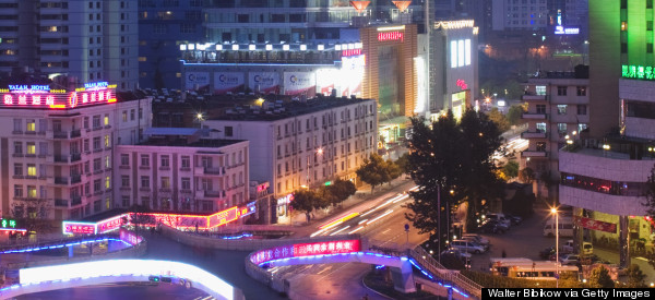 kunming city night