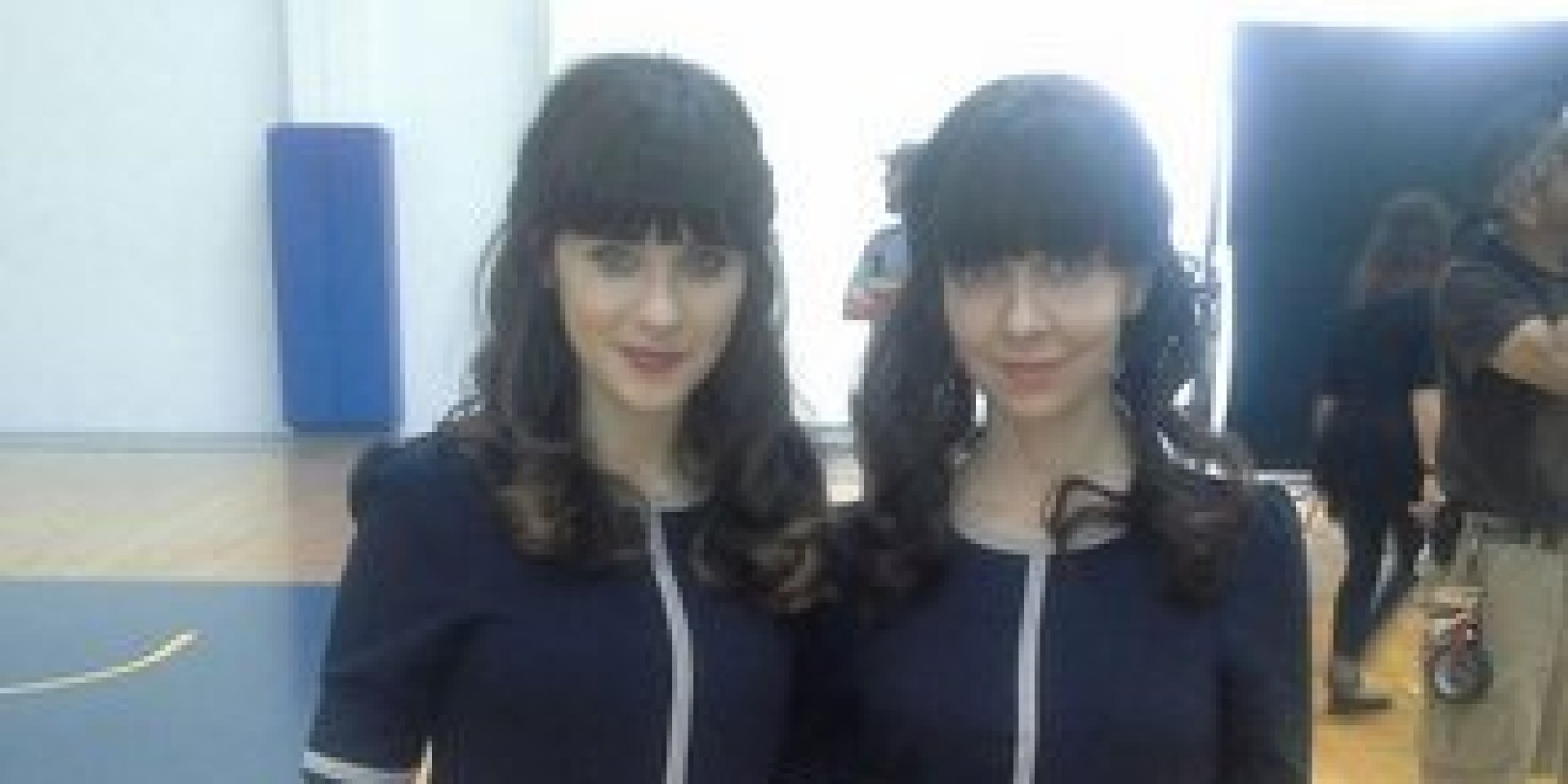 Zooey Deschanel Gigantic Body Double Zooey Deschanel Tweets...