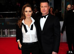 Baftas 2014: Angelina Jolie And Brad Pitt Dazzle In Matching Outfits