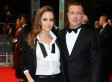 Angelina Jolie And Brad Pitt Match In His & Hers Suits At The 2014 BAFTAs (PHOTOS)