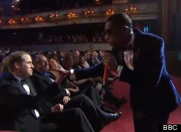 BAFTAS: Tinie Tempah High-Fives Prince Will