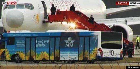 hijacked plane