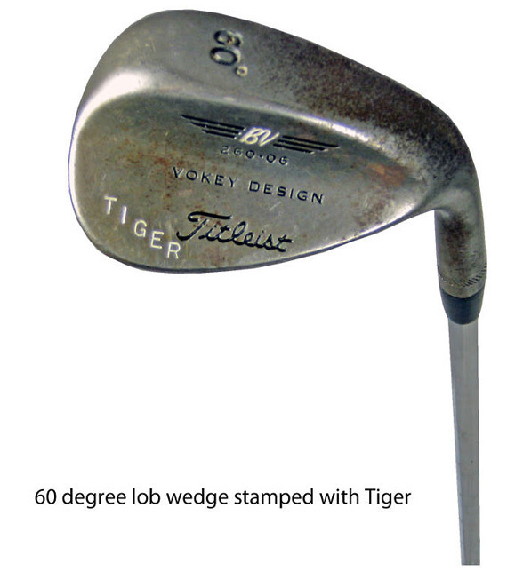 Tiger Slam Golf Clubs On Ebay Woods Irons On Auction Huffpost
