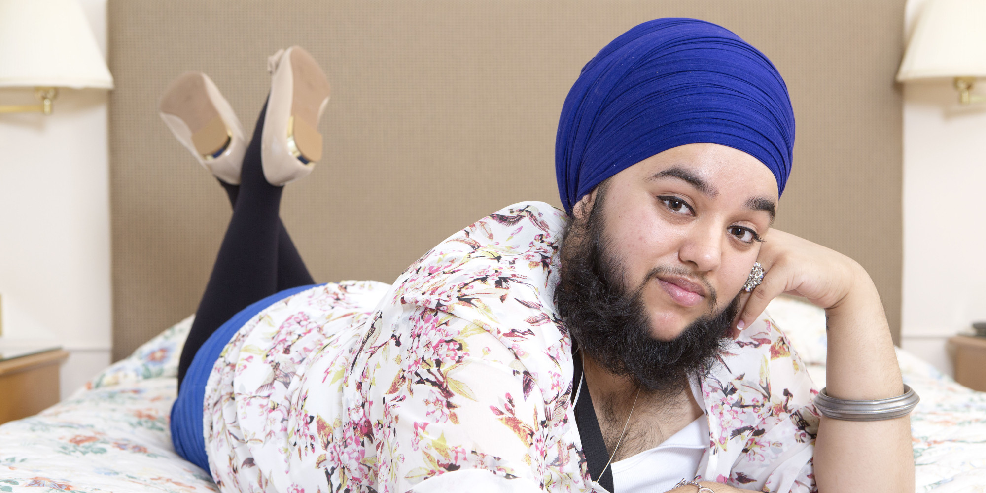 Sikh Woman Harnaam Kaur Embraces Facial Hair Despite ...