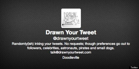 drawn your tweet
