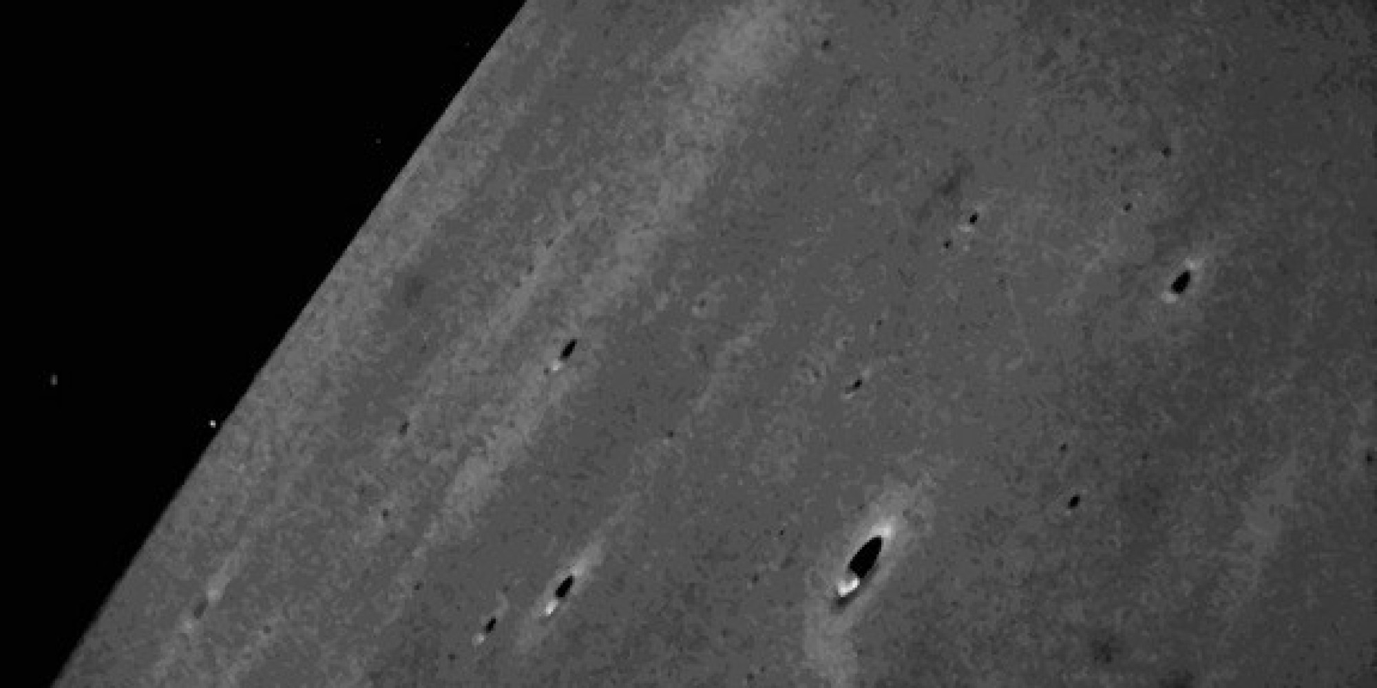NASA's Moon Dust Spacecraft Beams New Lunar Photos To ...