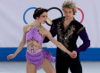 Meryl Davis, Charlie White Win Ice Dancing Gold For U.S., Edging Canada's Tessa Virtue, Scott Moir