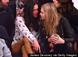 Cara Delevingne And Michelle Rodriguez Kiss In Miami