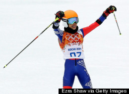 Pop Violinist Vanessa-Mae Finishes Last on Olympic Debut (PICTURES)
