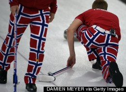Farewell To Norway Curling Team's Trousers (PICTURES)