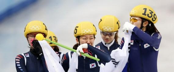 SOUTH KOREA GOLD MEDALISTS
