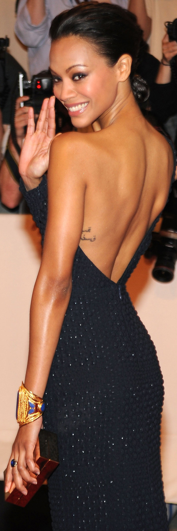 Zoe Saldana Tattoo