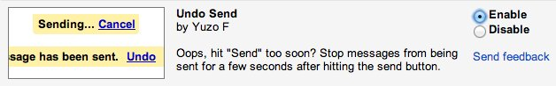 gmail didnt know