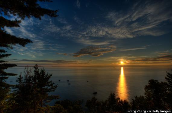 sunrise cadillac mountain