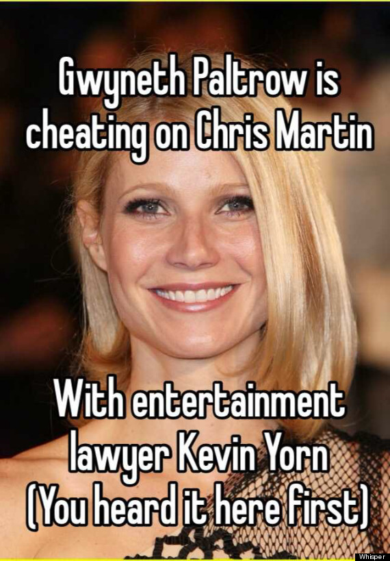 gwyneth paltrow affair