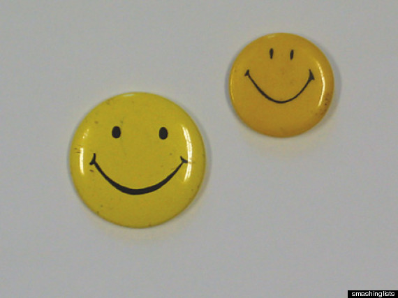 smiley buttons