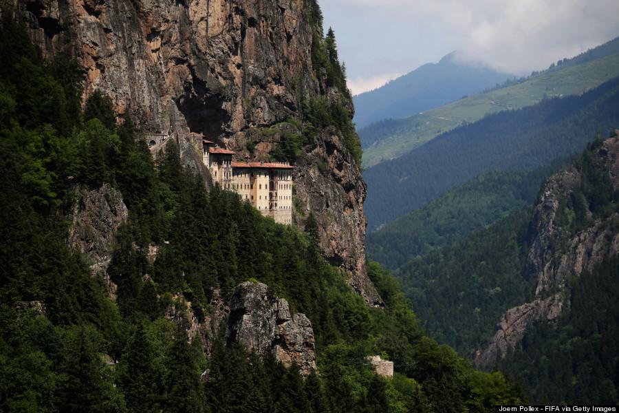 Precarious Monasteries Reveal Faith Close To The Edge ...