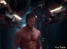 WATCH: Topless Chris Pratt Stars In 'Guardians Of The Galaxy' Trailer