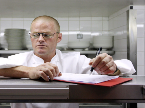 Heston Blumenthal Hopsital Food