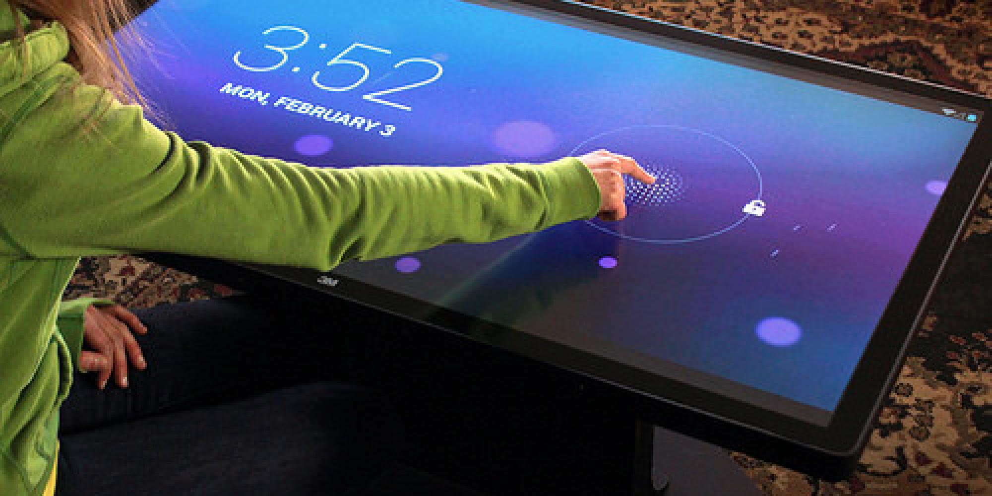 Une Table Basse Tactile Sous Android Bient T Disponible