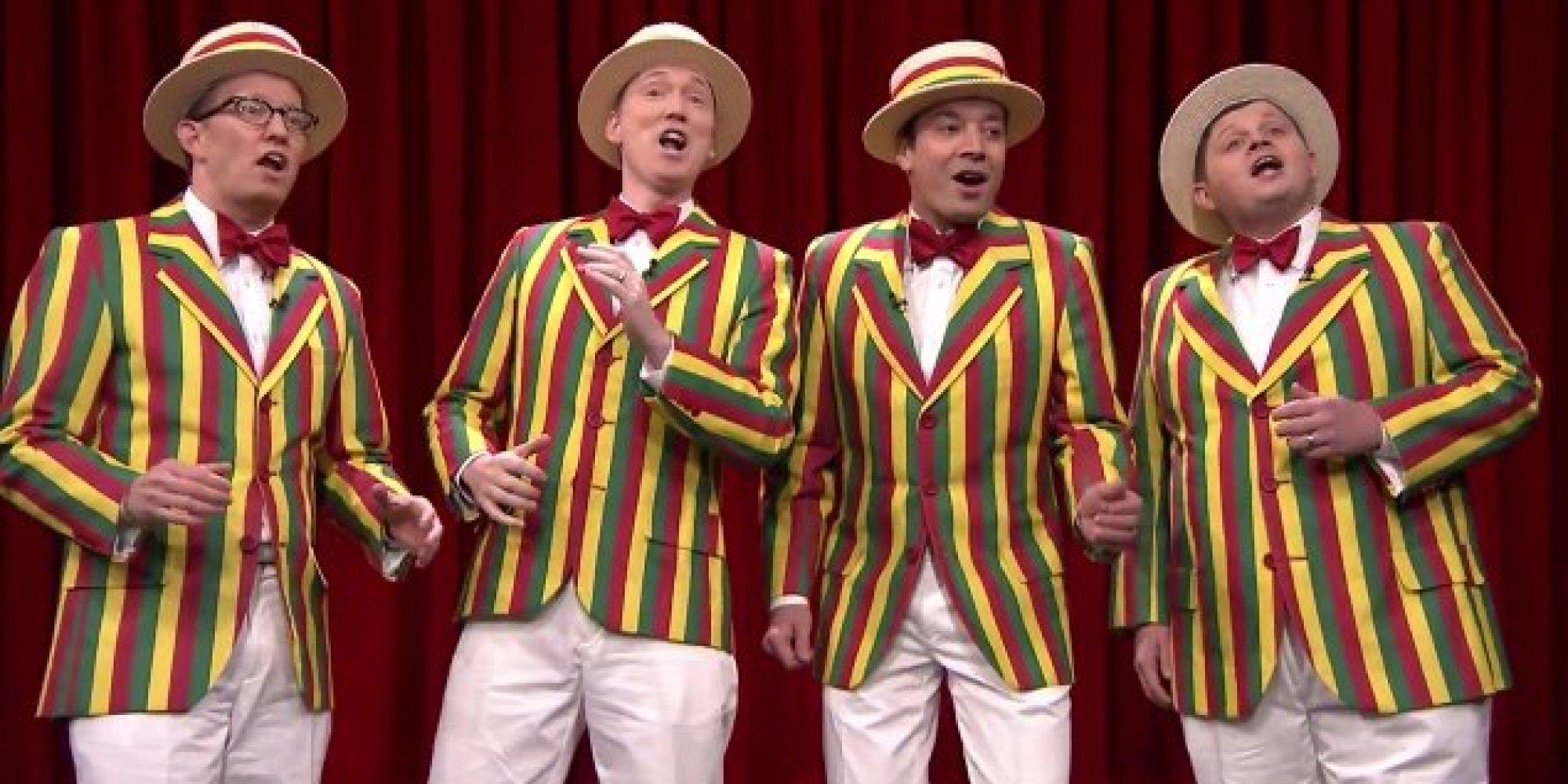 Barber Quartet : ... Performed As A Barbershop Quartet On Fallon The Huffington Post