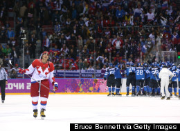 Russia Knocked Out Of Olympic Hockey