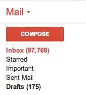 crowded inbox