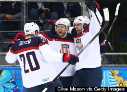 USA Hockey Roars Into Semifinal