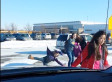 Dad Films 6 Minutes Of Students Slipping On Ice With Running Commentary
