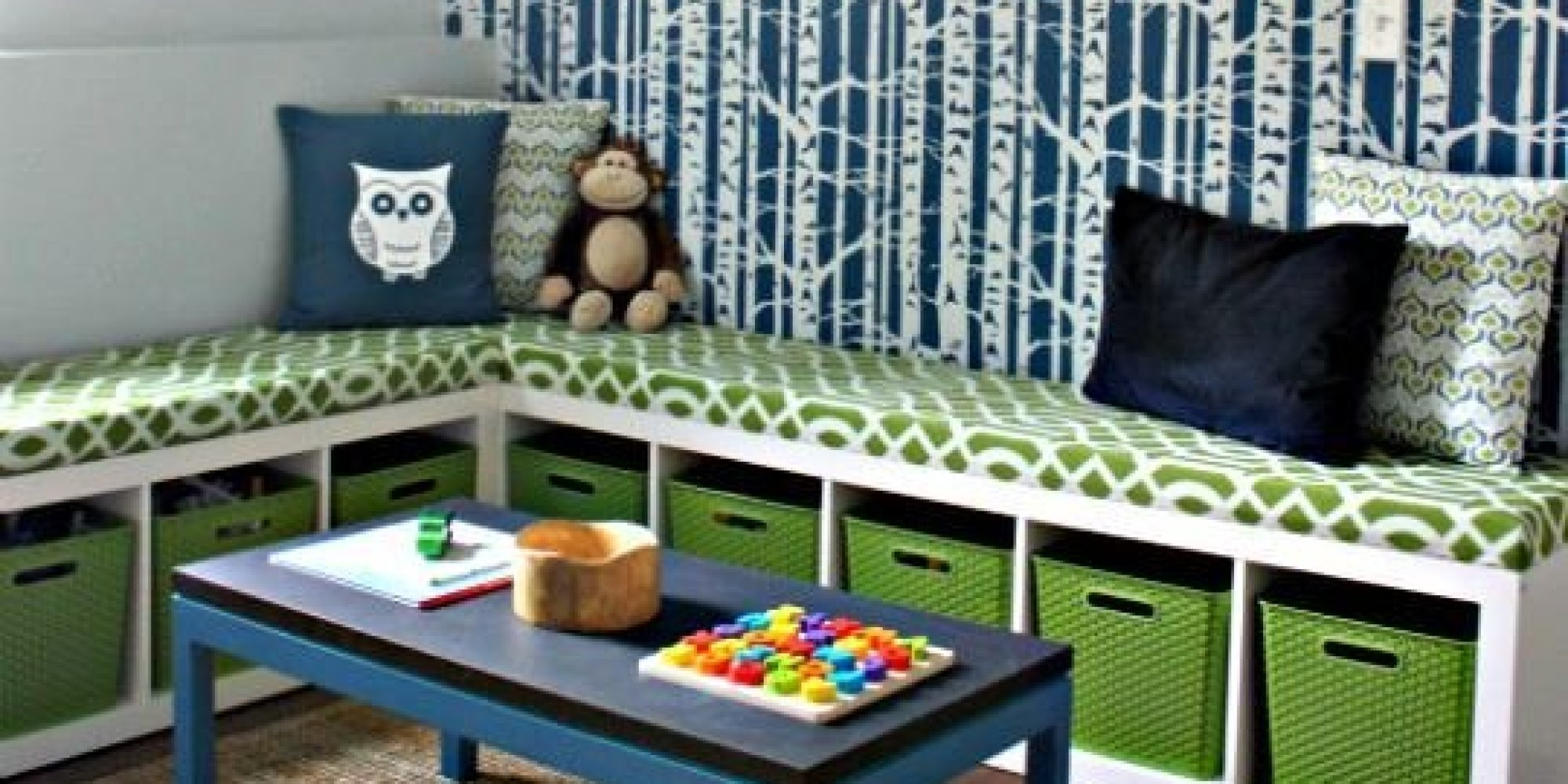 11 ways to dress up ikea 39 s iconic bookcase before it 39 s gone forever photos huffpost. Black Bedroom Furniture Sets. Home Design Ideas