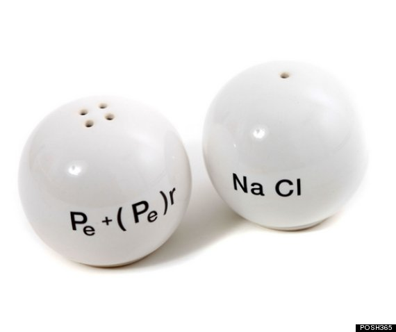 Chemistry Salt And Pepper Dispensers shakers 3