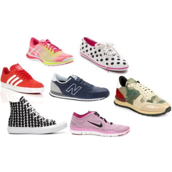Nike Red Polka Dot Shoes